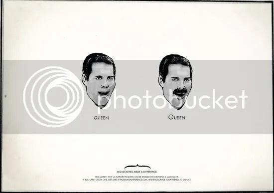 movember,moustache,prostate,cancer,publicity,publicité,Che,Mario Bros,Hulk Hogan,Queen,Einstein,Ghandi,Dali