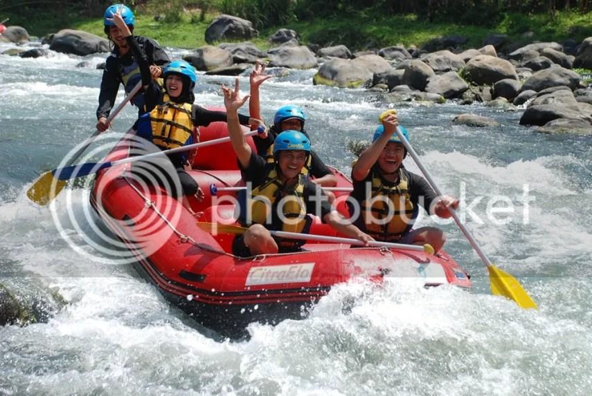 Rafting Citra elo Magelang