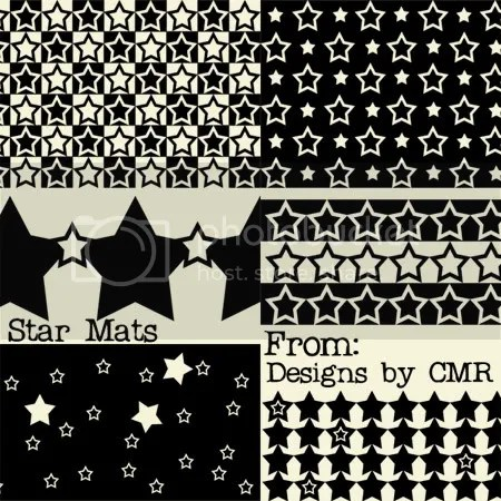 Star Mats from Designs by CMR