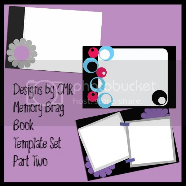 Memory Brag Book Template Set Part 2