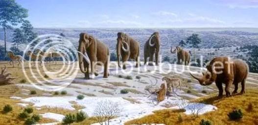 Resultado de imagen de Pleistoceno