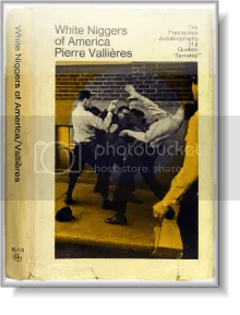 Book cover: White Niggers of America by Pierre Vallières
