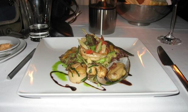 Seafood salad Sirocco