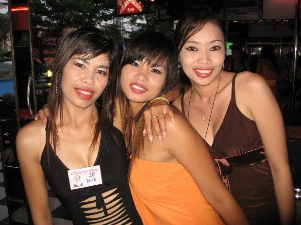Sexy Cherry Bar babes Pattaya