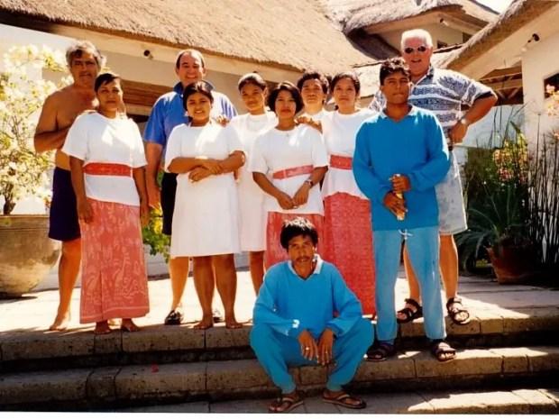 Bali Indonesia friends