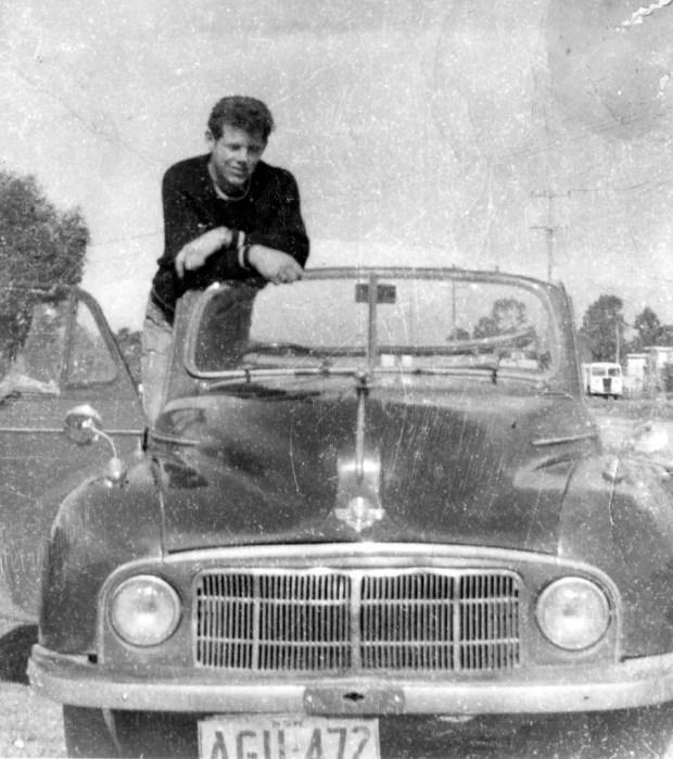 David Herd 1960s Australian teenager