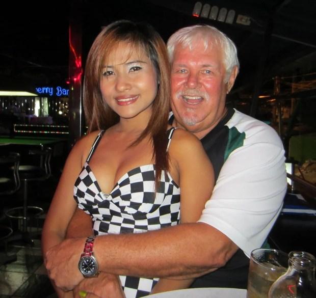 David with Aoy Cherry bar