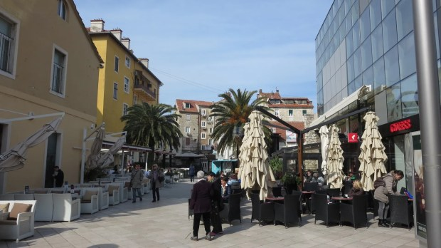 Split Croatian coastal city