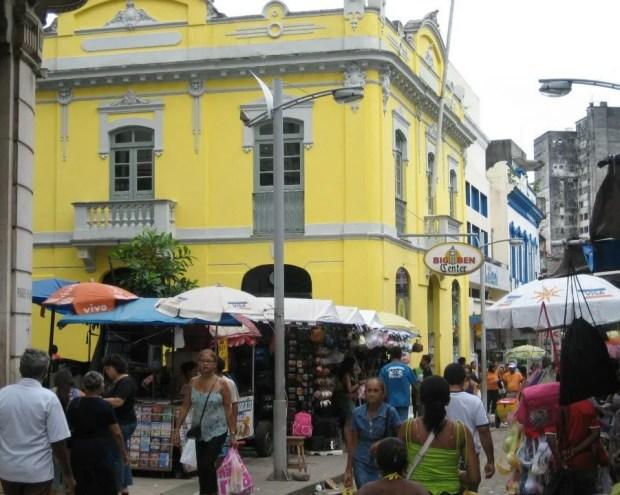 Downtown Belem Brazil