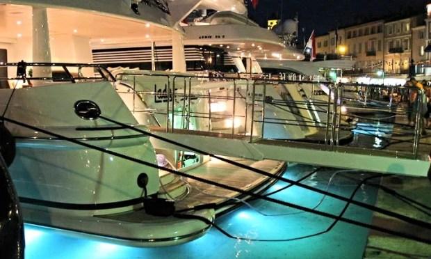 St Tropez boats