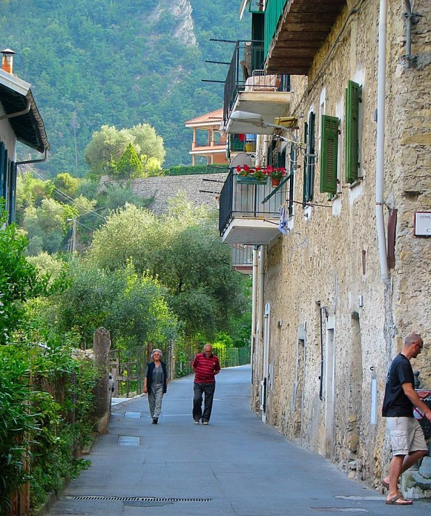 Airole beautiful Medieval Italian village