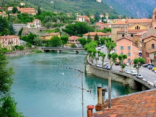French Italian villages