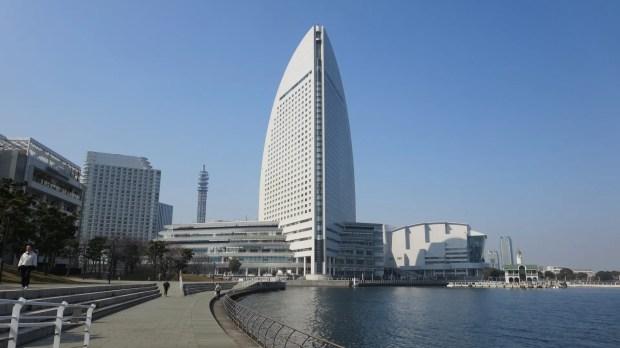 Intercontinental hotel Yokohama