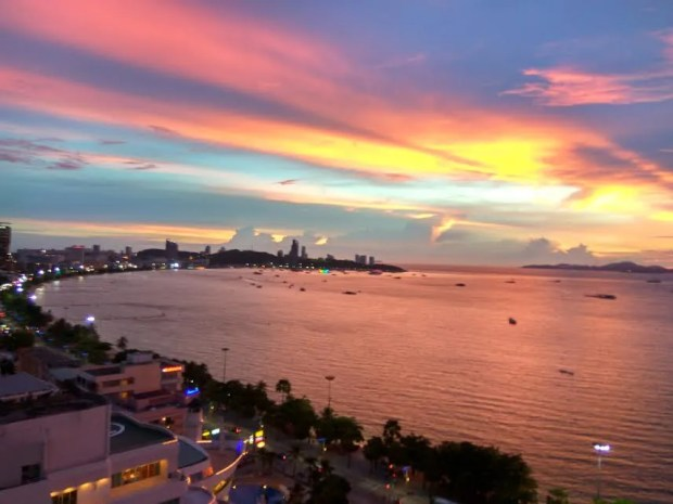 best sunsets thailand