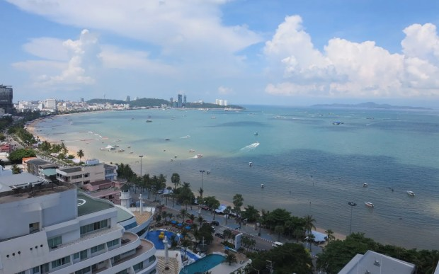 Tropical storm floods Pattaya