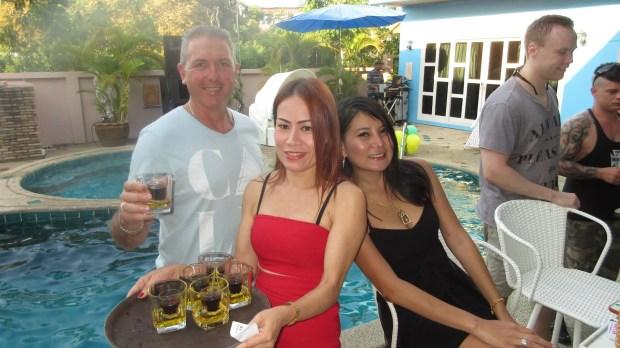 Geoff's Birthday Party Pattaya style