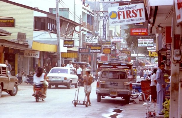 Pattaya walking street 1980