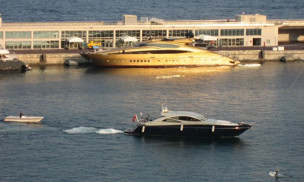 Magnificent Monte Carlo boats