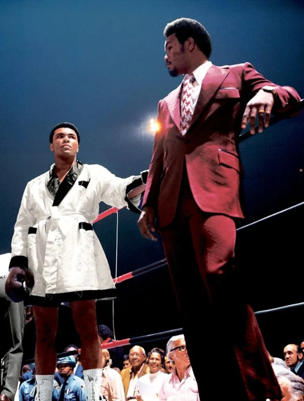 photo George Foreman before Alirsquos second fight with Jerry Quarry.jpeg