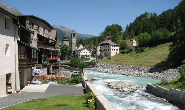Road trip St Moritz Salzburg