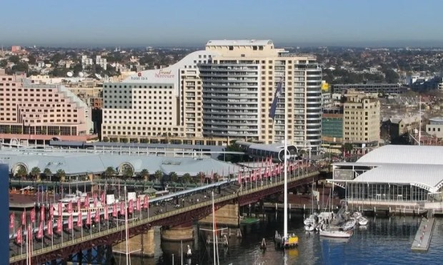 Darling Harbor old Piermont bridge