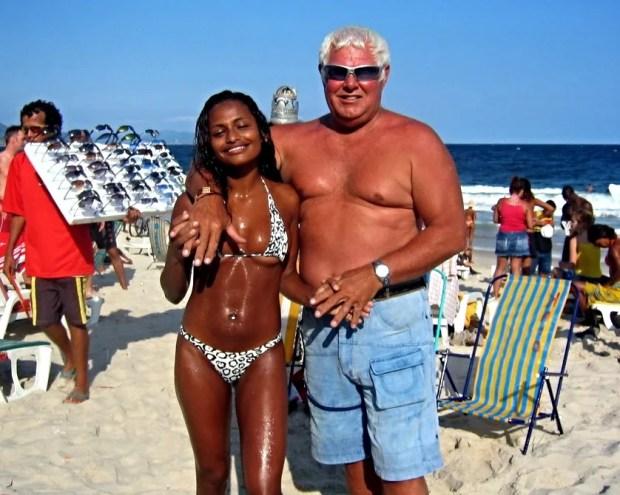 Beautiful brown skin Brazilian babes
