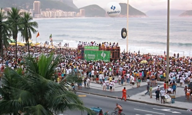 Avenue Atlantica Copacabana