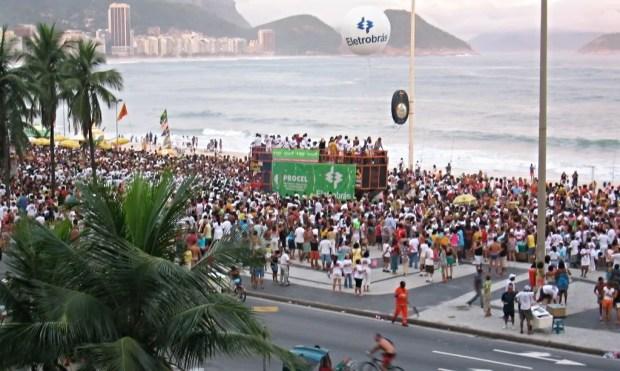 Avenue Atlantica Copacabana