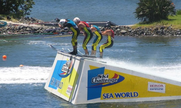 Sea World water ski