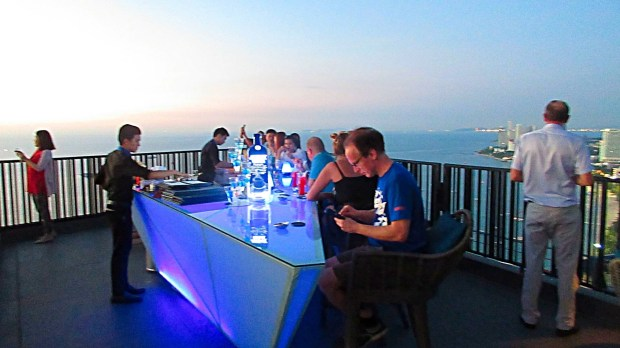 Hilton Pattaya spectacular Sky Bar