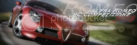 Alfra Romeo 8C Competizione 2009
