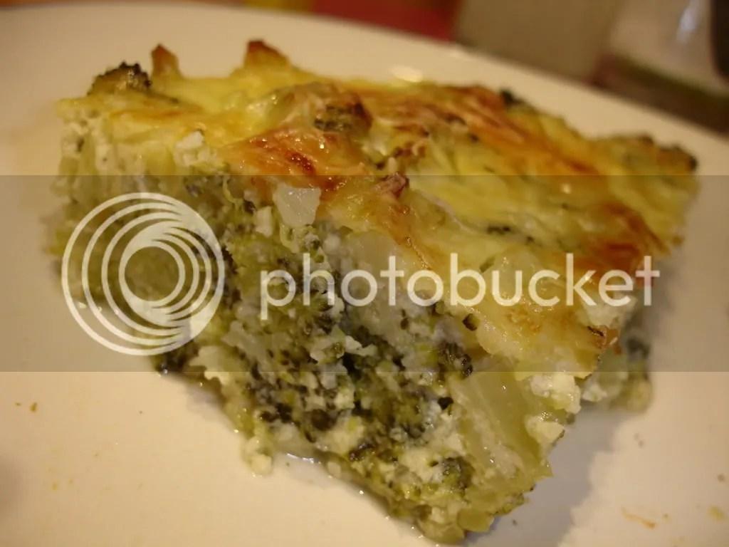Brokoli Gratin (baked brokoli)