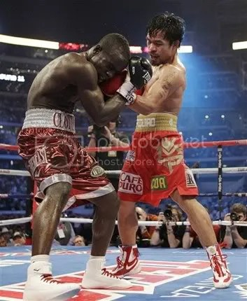 Pacquiao vs Clottey at Cowboy Stadium