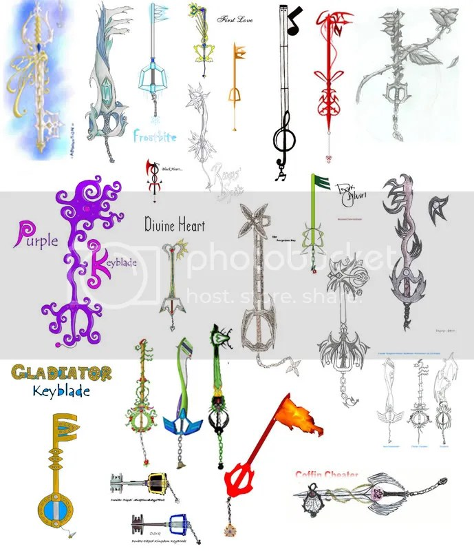 Keyblade Fanart Pictures, Images and Photos