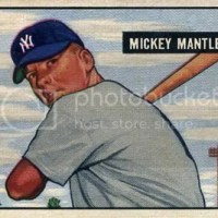 Cardboard Wars - Mickey Mantle