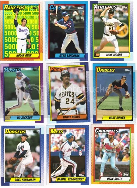 1990 Topps Jumbo Pack Break
