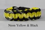 Neon Yellow & Black