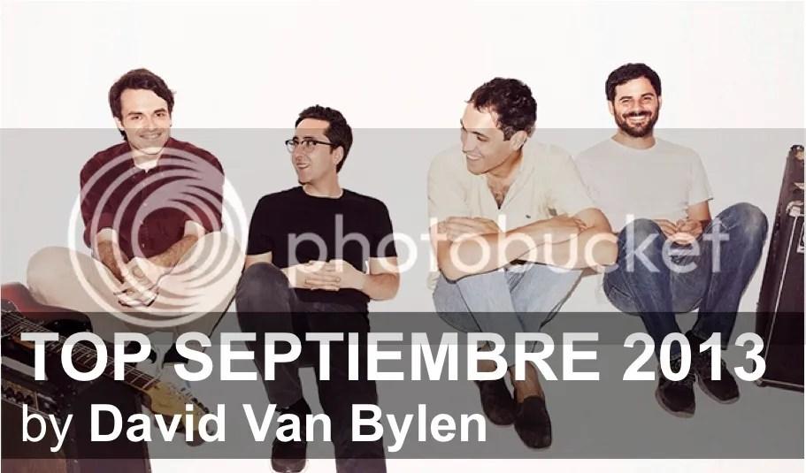 Top Septiembre 2013 by David Van Bylen