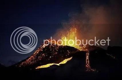 los volcanes en sicilia