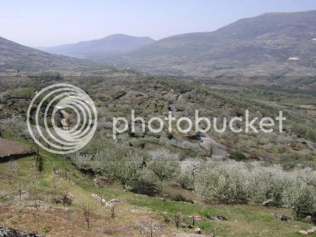 Vista del Valle del Jerte desde Valdastilla