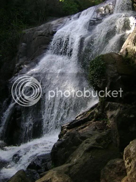 Segunda cascada de la Garganta de las Nogaledas, Navaconcejo