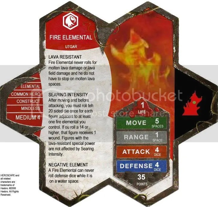 D1 Fire Elemental - UTGAR