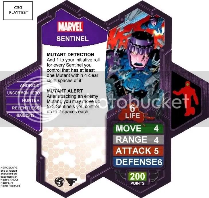 C3G Sentinel playtest