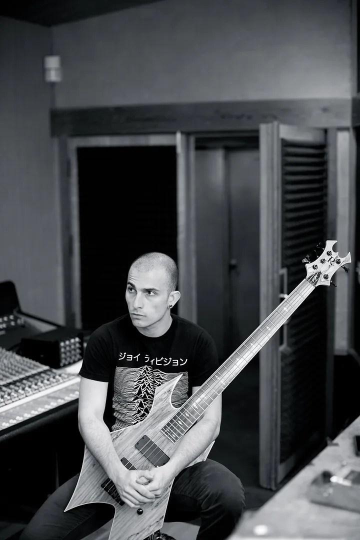 Paolo en el estudio