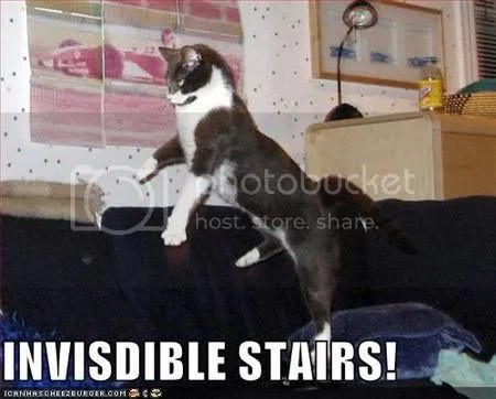 Invisible stairs