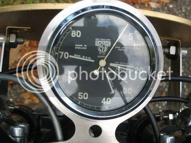Matchless rpm/mph