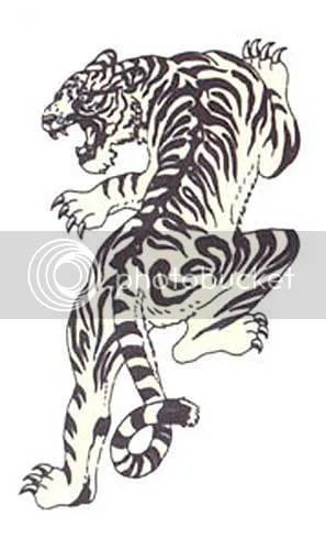 free Tribal tiger tattoos desings