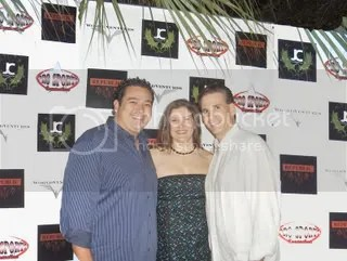 Marc & Kelly Accetta with Monico Perez