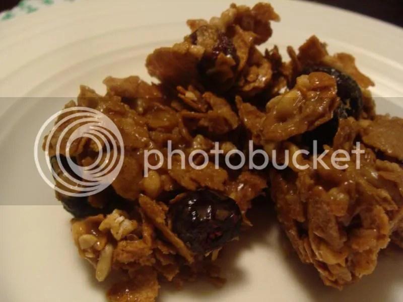 Apple Honey Cereal Bars