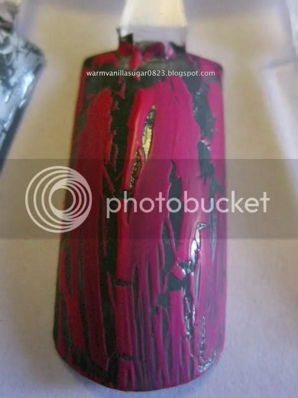 china glaze broken hearted,china glaze crackle,warmvanillasugar0823